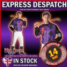 FANCY DRESS COSTUME ~ MENS MALE JOCKEY XL